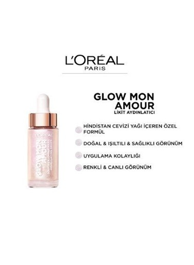 L'Oréal Wult Glow Mon Amour Likit Highlighter 05 Renksiz